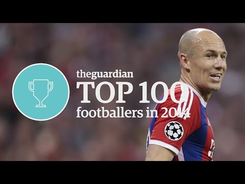 The world's top 100 footballers 2014: 4 - Arjen Robben