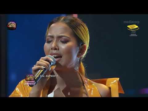 Gloria Jessica  Aisyah Aziz dan Haikal Ali  Anugerah Planet Muzik 2017