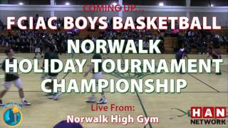 HAN Sports: Norwalk vs Brien McMahon Boys Basketball 12.28.16