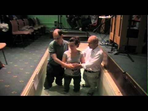 Annie Macpherson Baptism - 26th September 2010