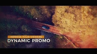 Dynamic Promo - After Effects Template - Videohive