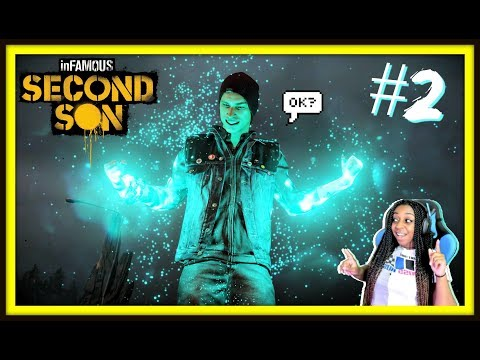 I GOT SIDE TRACKED  Infamous Second Son Episode 2 Gameplay