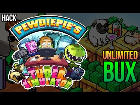 PewDiePie's Tuber Simulator HACK / GLITCH! Get Unlimited Bux for free!