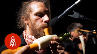 The Vegetable Orchestra Literally Plays with Their Food