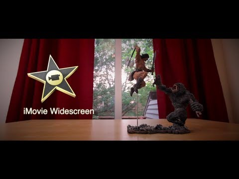 iMovie Effects 3: Widescreen (Letterbox)