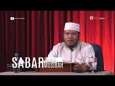 Sabar Dalam Musibah, Qoulul Mufid