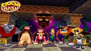 Crash Bash #01 - 1° Warp Room/Boss Papu Papu! (2017)