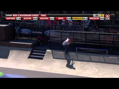 X Games Los Angeles 2012: Paul Rodriguez Wins Gold