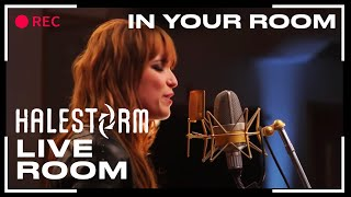 Клип Halestorm - In My Room (live)