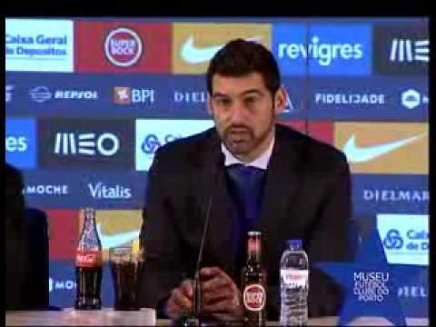 Futebol: Paulo Fonseca (conferência de imprensa do FC Porto-Paços de Ferreira, 18.ª jornada da Liga)