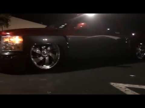 Bagged Chevy Silverado