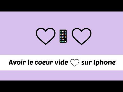 Avoir le coeur transparent (♡) sur iphone, ipad et ipod