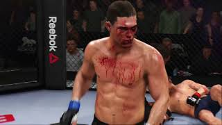 Alan Jouban Knockout EA Sports UFC 3
