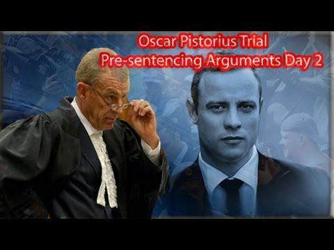 Oscar Pistorius Pre-Sentencing Arguments: Tuesday 14 October 2014, Session 1