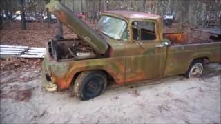 1959 Ford F-100 Rescued