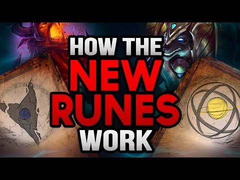 HOW THE NEW RUNE SYSTEM WORKS (NEW KEYSTONES + CHOICES) (League of Legends)