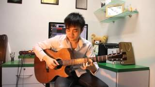 """Fairy Tail - Masayume Chasing """"FingerStyle"""" (Steven Law)"""