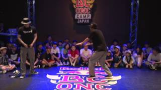 MACCHO vs HOAN Best8_02 | SAMURAI ASIA FINAL 2017.07.01 | Red Bull BC One Camp Japan 2017