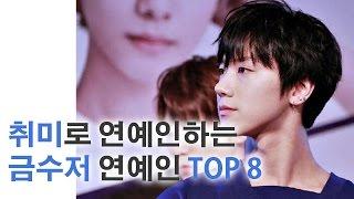취미로 연예인하는 금수저 연예인 TOP 8