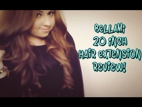 Bellami 20 Inch Hair Extension REVIEW!