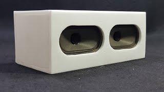 Chế loa Bluetooth Từ Loa TV và Pin Laptop Cũ