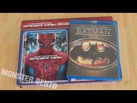 Wal-Mart Black Friday 2013 Blu-Ray Haul Unboxing (Batman '89 & The Amazing Spider-Man)