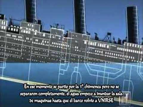 Verdadero hundimiento del Titanic - YouTube