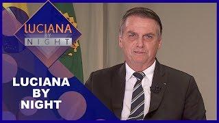 Luciana By Night com Jair Bolsonaro (07/05/19)   Completo
