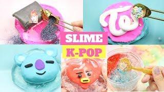 5 CÔNG THỨC SLIME TỪ NHỮNG NHÓM K-POP: BTS, BLACKPINK, TWICE, BT21