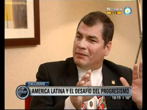 V7Inter: Entrevista a Rafael Correa (2 de 2)