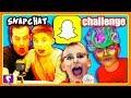 SNAPCHAT Funny Face Challenge with HobbyKidsTV!
