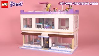 Mansion 019 | LEGO Friends Custom Creations for Kids #222