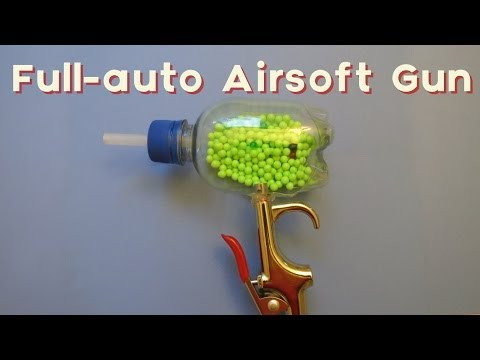 How to Make a Full-Auto Airsoft Gun (Updated)