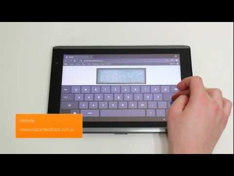 Acer Iconia Tab 32GB A500 Unboxing   HSDPA 3G