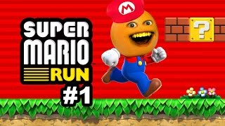 Annoying Orange Plays - Super Mario Run: World 1