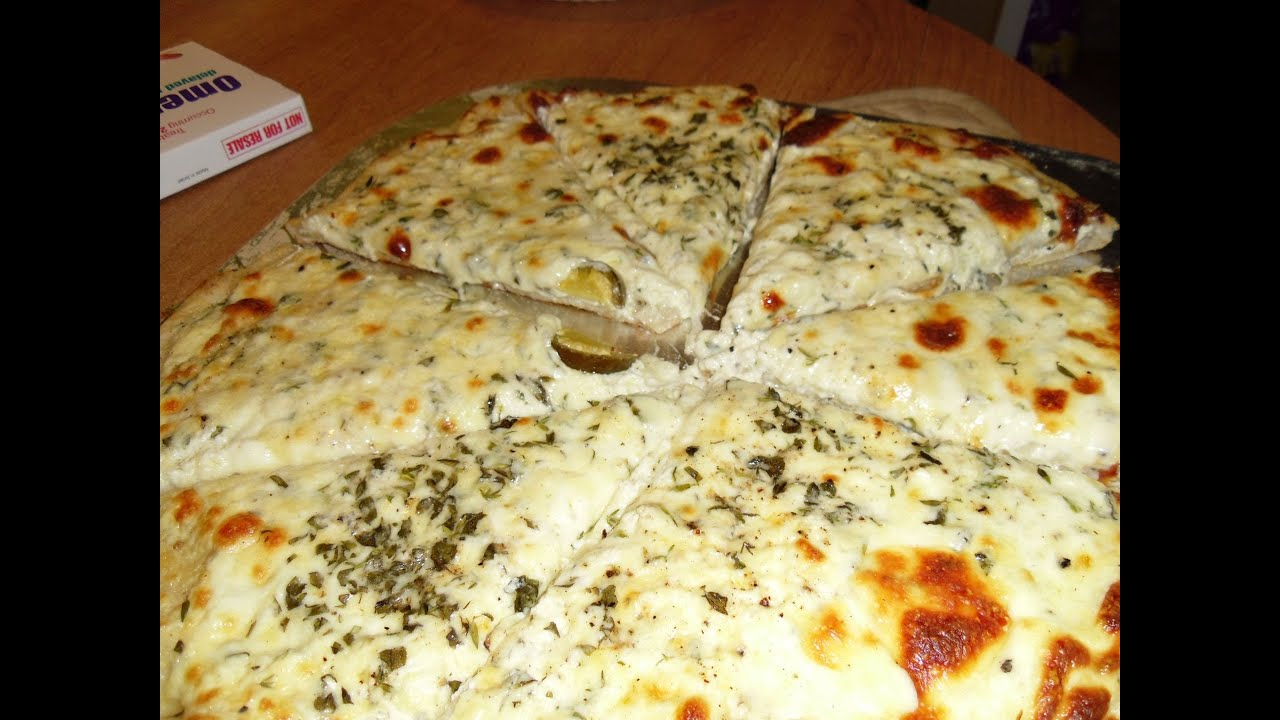 New York Style White Pizza (Tribute to HALLSYSKITCHEN) - YouTube