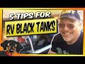 🔴  RV Black Tanks - 5 Useful tips - Adventures in RV Living