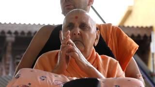 Guruhari Darshan 15 Sep 2014, Sarangpur, India