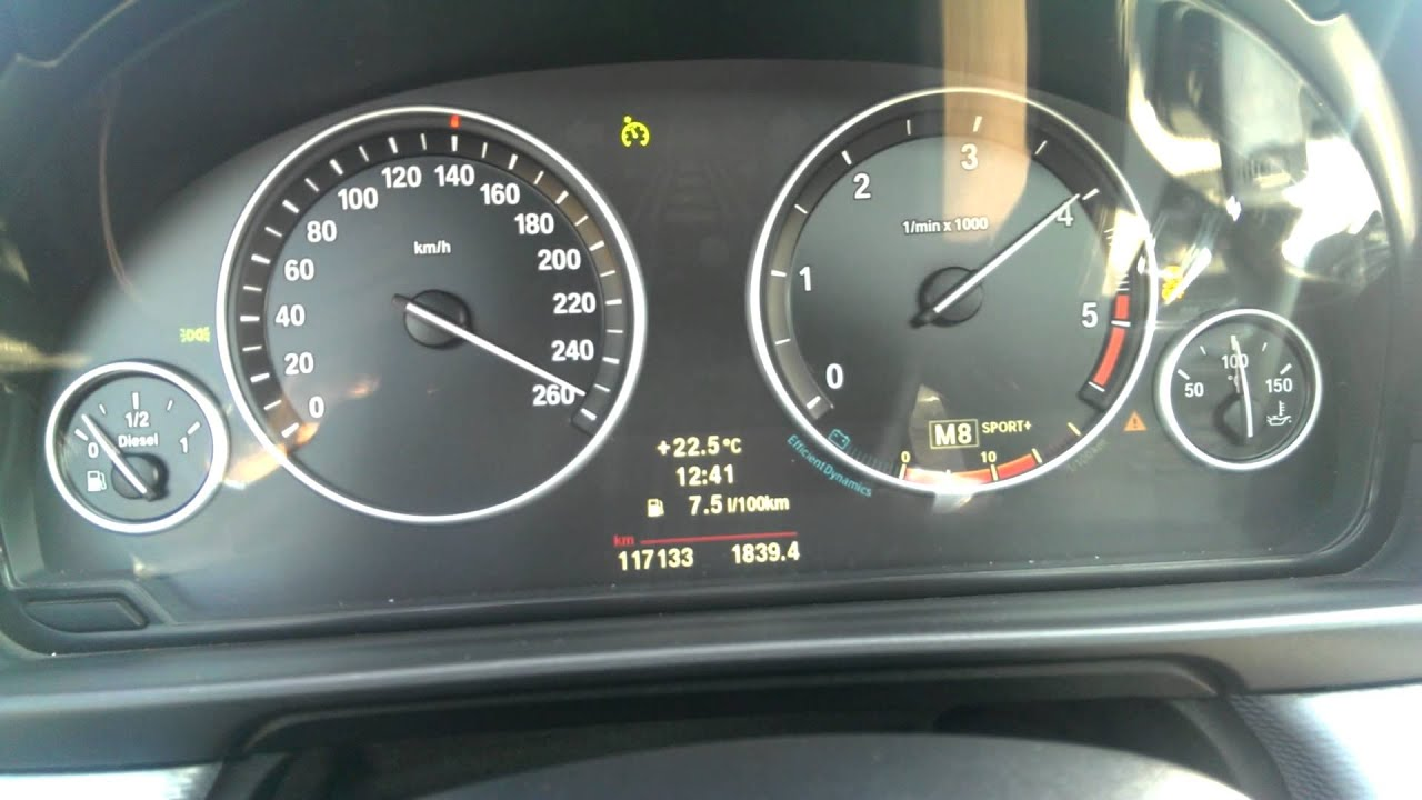 Bmw Speed Bmw 520d F10 Top Speed 260