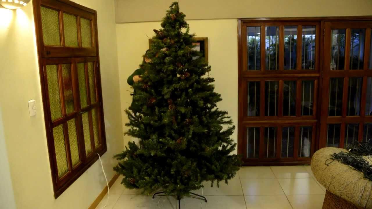 Como decorar un arbol de navidad en 2 30 minutos youtube - Como decorar un recibidor pequeno ...