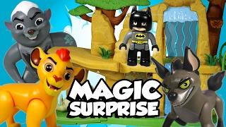 SURPRISE TOYS MAGIC Lion Guard Surprise Toys with Lego Duplo Batman, Disney Cars Toy & Mickey Mouse