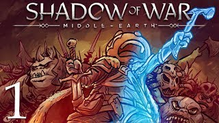 Middle Earth Shadow of War Gameplay Walkthrough Part 1: Cause the Hot Spider Said So