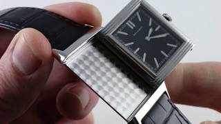 Pre-Owned Jaeger-LeCoultre Grande Reverso Ultra-Thin Tribute to 1931 Q2788570 Luxury Watch Review