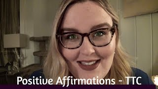 Pregnancy Positive | Affirmations for Trying to Conceive (TTC) | ASMR