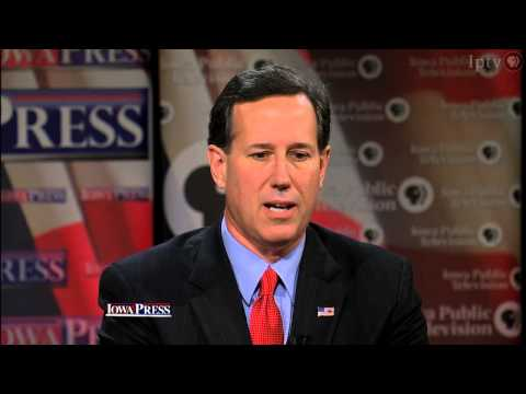 "Santorum on 2016: ""I'm very open to taking another run"""