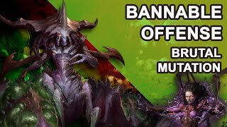 Starcraft 2 Co-op Brutal Mutation: Bannable offense [ Zagara ]