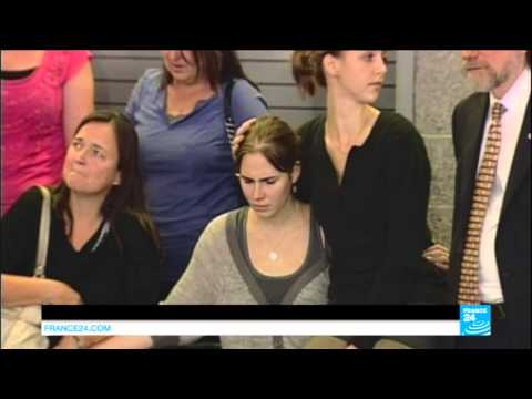 ITALY - Amanda Knox finally acquitted for Mereditch Kercher murder
