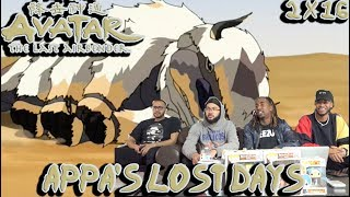 "WHERES APPA?! Avatar The Last Airbender 2 X 16 ""Appa's Lost Days"" Reaction/Review"