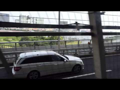 Tokyo, Telecom Centre to Shimbashi time-lapse