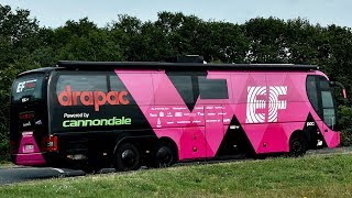 A Look at EF Education First Drapac p/b Cannondale's Team Bus at Tour de France 2018   Sigma Sports